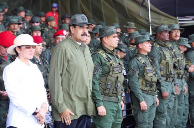 venezuela askeri tatbikat