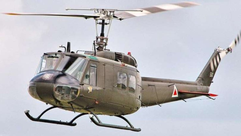 UH-1 tipi helikopter Çekmeköy