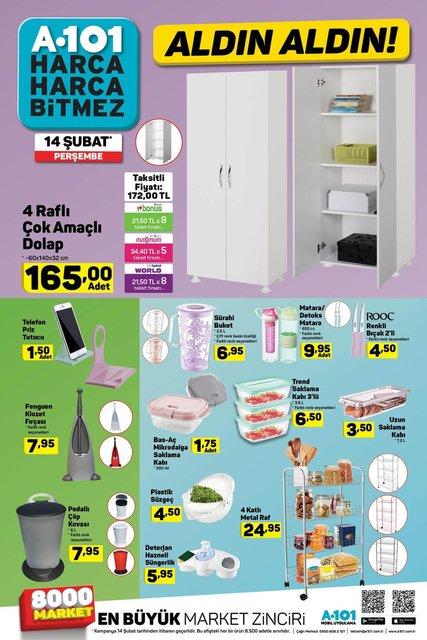 A101 14 Şubat Aktüel ürünler kataloğu yayımlandı! İşte A101'in Sevgililer Gününe özel indirimli ürünleri!