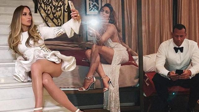 Jennifer Lopez'den 'gecenin sonu' pozu - Magazin haberleri