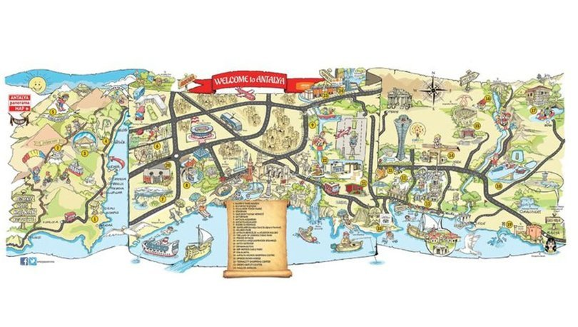 antalya harita