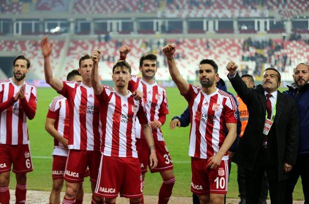Sivasspor serisini 9 maça yükseltti