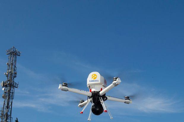 turkcell 5g drone