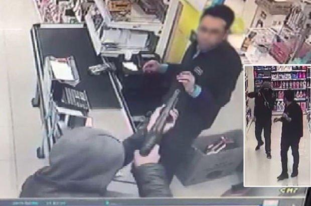pompalı tüfekle soygun