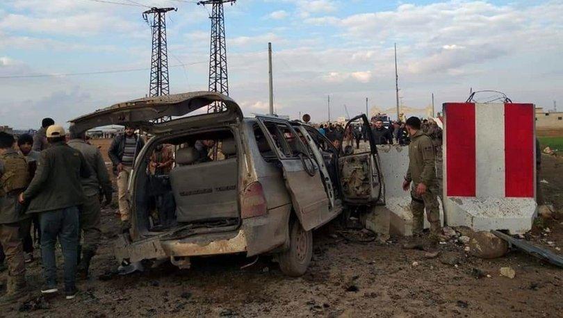 SON DAKİKA! Kilis'teki sınır kapısının Suriye tarafında patlama!