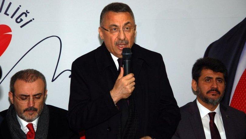 Cumhurbaşkanı Yardımcısı Fuat Oktay Kahramanmaraş