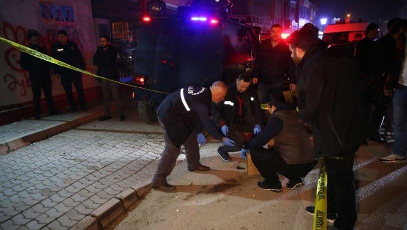 Adana AK Parti AK Parti'nin seçim bürosu molotoflu saldırı