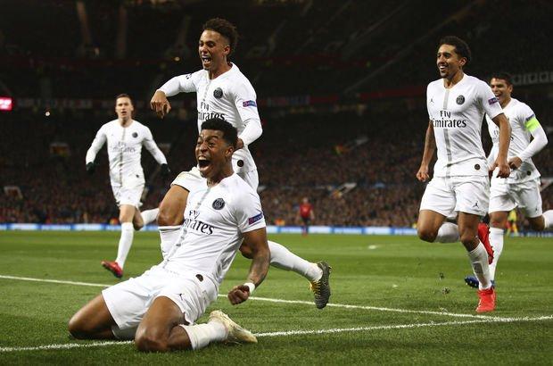 Manchester United'ı PSG durdurdu