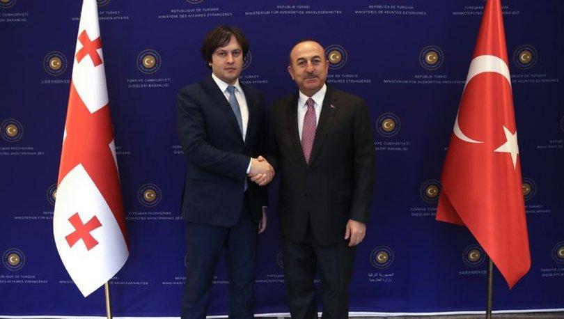 Dışişleri Bakanı Mevlüt Çavuşoğlu Kobakhidze