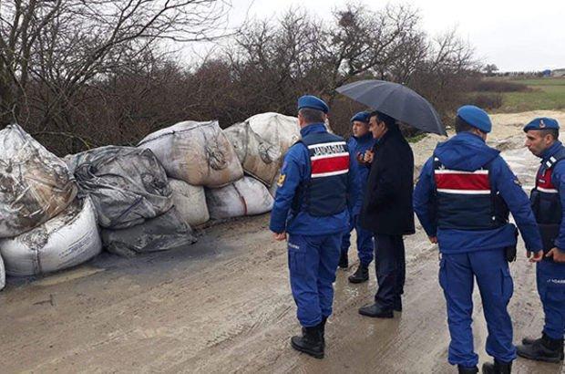 Çerkezköy'de kimyasal atık iddiası