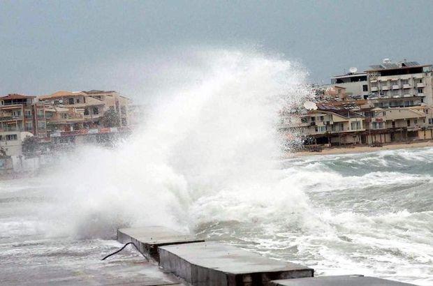 Meteoroloji Genel Müdürlüğü fırtına uyarısı