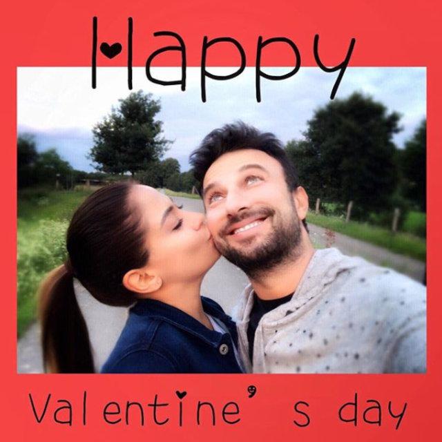 Ünlülerden 14 Şubat Sevgililer Günü paylaşımları - Magazin haberleri