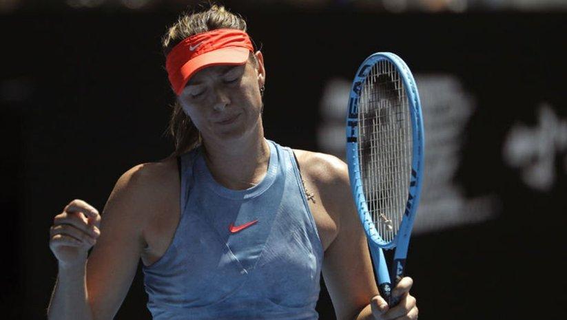 Sharapova, Indian Wells'ten çekildi