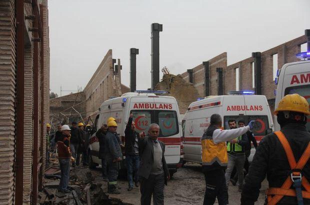 Müze inşaatında feci kaza: 1 işçi can verdi