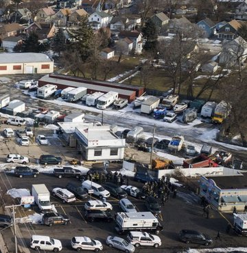 ABD'de iş yerine silahlı saldırı! 4 polis yaralı