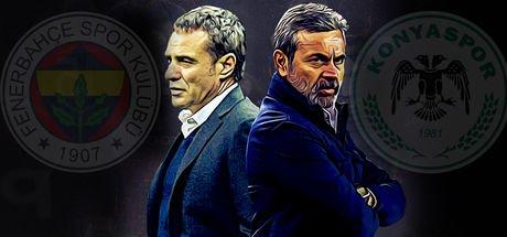 Fenerbahçe - Konyaspor maçının muhtemeler 11'leri