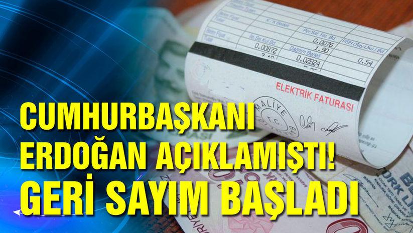 Cumhurbaşkanı Erdoğan açıklamıştı! Geri sayım başladı