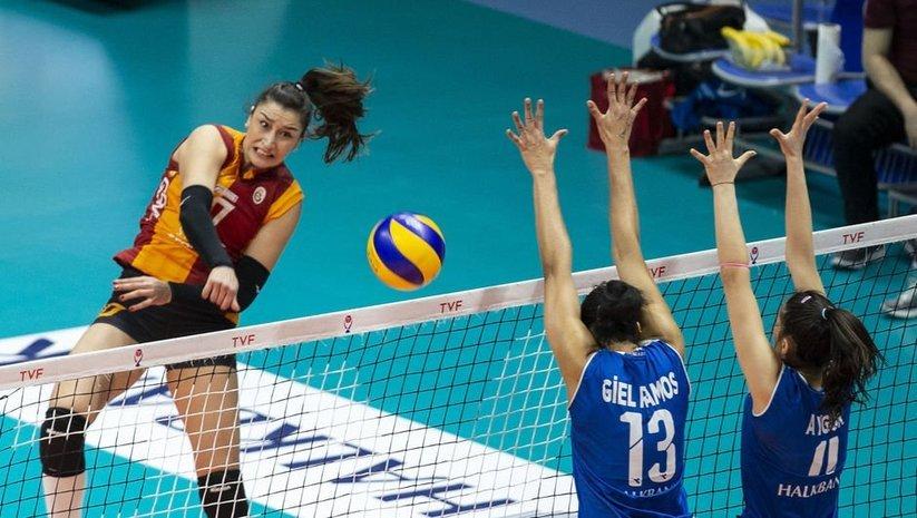 Galatasaray HDI Sigorta, Halkbank'ı devirdi