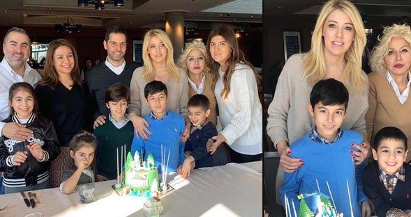 Talay çiftinin doğum günü sevinci...