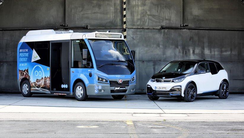 Elektriği BMW'den gelen 'Jest' Avrupa yolcusu!