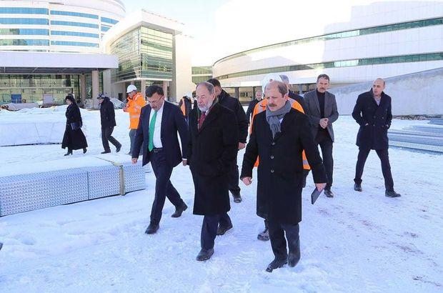 Recep Akdağ: Erzurum Şehir Hastanesi kendi elektriğini de üretecek