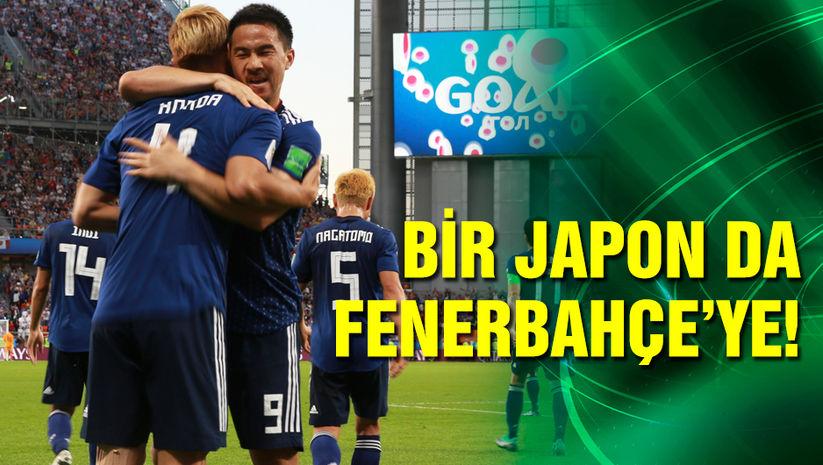 Bir Japon da Fenerbahçe'ye!