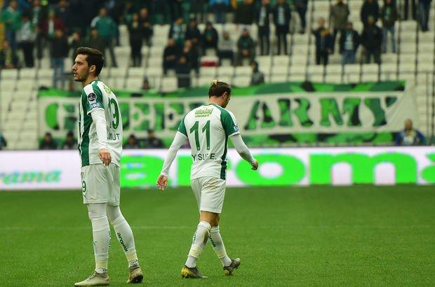 Bursaspor taraftarının istifa çağrısına cevap