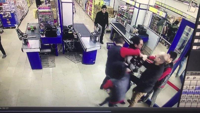 Kadın çalışan fark etti, kaçarken yakalandı