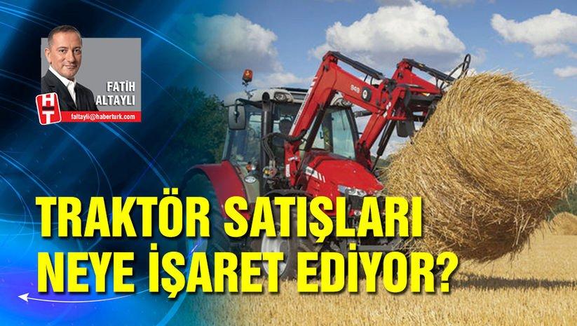 Traktör satışları neye işaret ediyor?