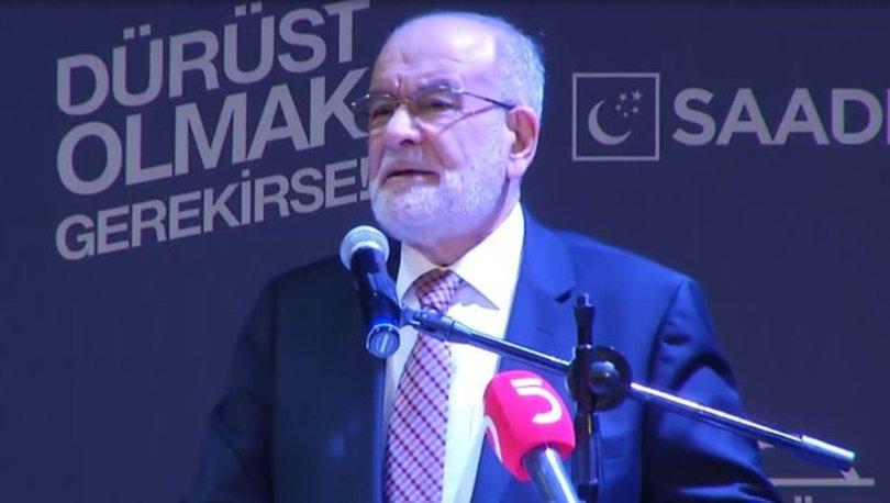 Karamollaoğlu'ndan hükümete 'beka' eleştirisi