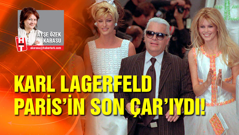 Karl Lagerfeld, Paris'in son Çar'ıydı…
