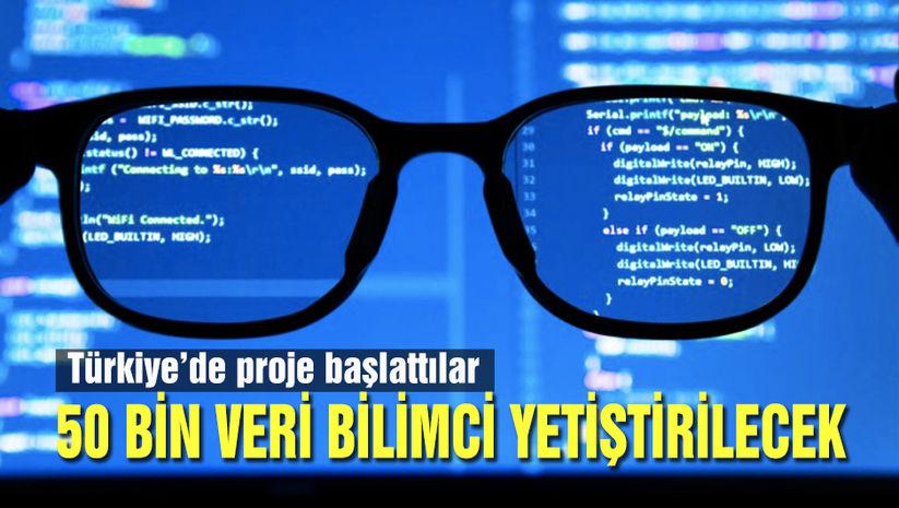 Türkiye'nin veri bilimcilerini yetiştirmek için kolları sıvadılar