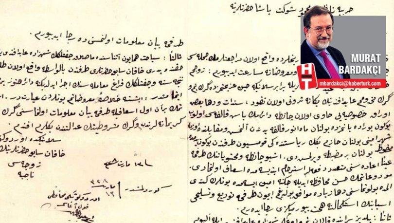 """Bu da Sultan Abdülhamid'in hanımının mektubu: """"Bizi sürgüne gönderirken dört yaşındaki oğlumuz için ayırdığımız paraları bile aldılar!"""""""
