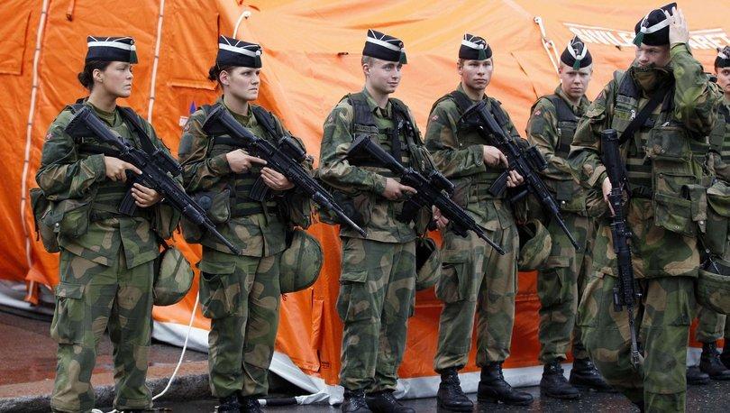 Norveç ordusunda tecavüz skandalı!