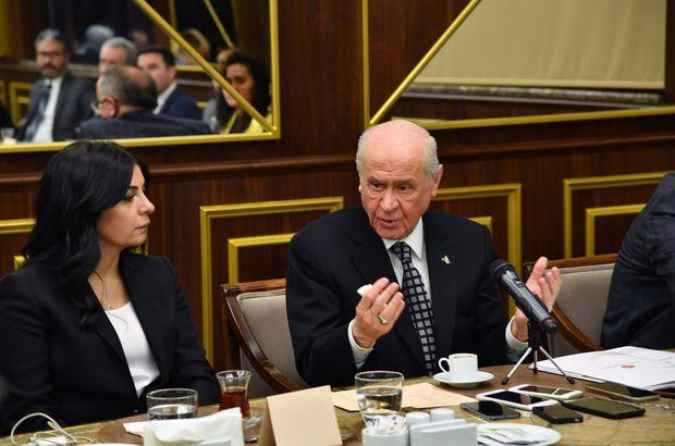MHP lideri Bahçeli'den kritik açıklamalar