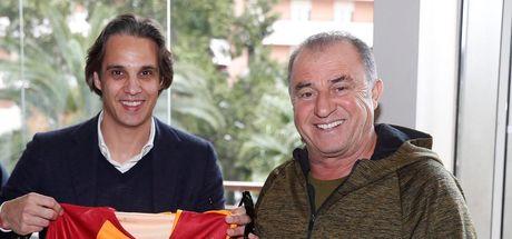 Terim'e eski öğrencisi Nuno Gomes'ten ziyaret