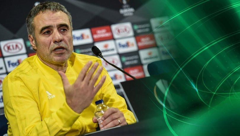 Ersun Yanal, Zenit maçında oynatacağı forveti açıkladı