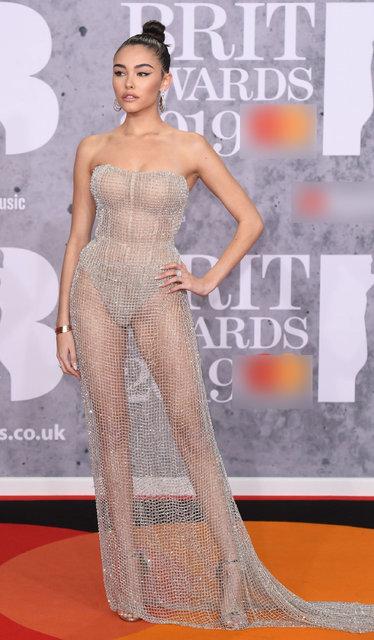 2019 Brit Ödülleri kırmızı halısından görüntüler