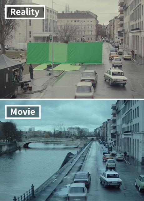 Unutulmaz film ve dizilerin kamera arkası görüntüleri