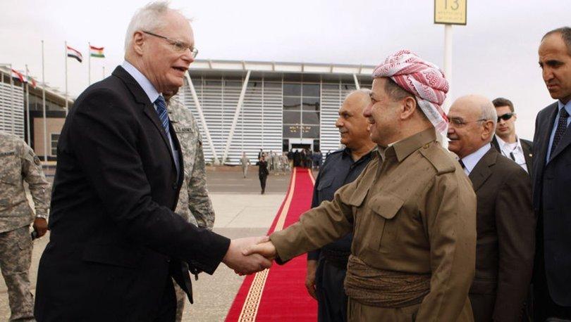 Barzani ile ABD'nin Suriye Özel Temsilcisi Jeffrey Suriye'yi görüştü