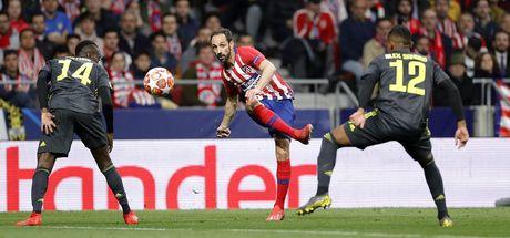 Atletico Juve'yi yıktı!
