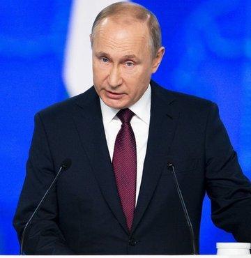 Putin: Kararın alındığı toprakları da vururuz!