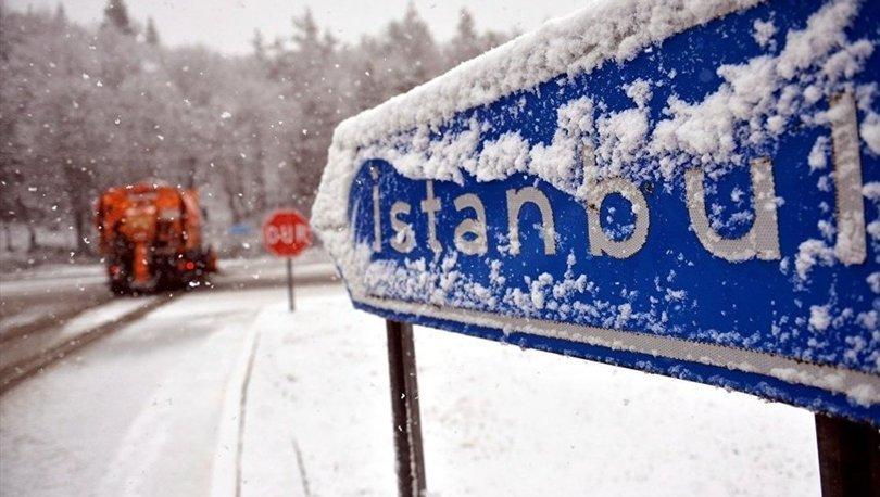 İstanbul'a kar ne zaman yağacak! Meteoroloji son dakika açıkladı