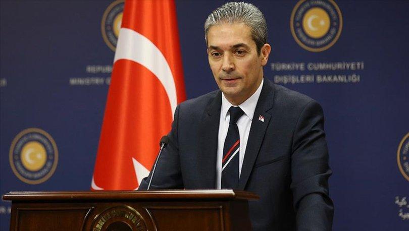 Aksoy: 'AP'nin 2018 Türkiye Raporu Taslağı Kabul Edilemez'