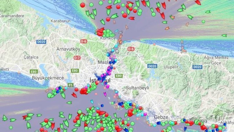 Bosporus Sea Access has been halted completely due to