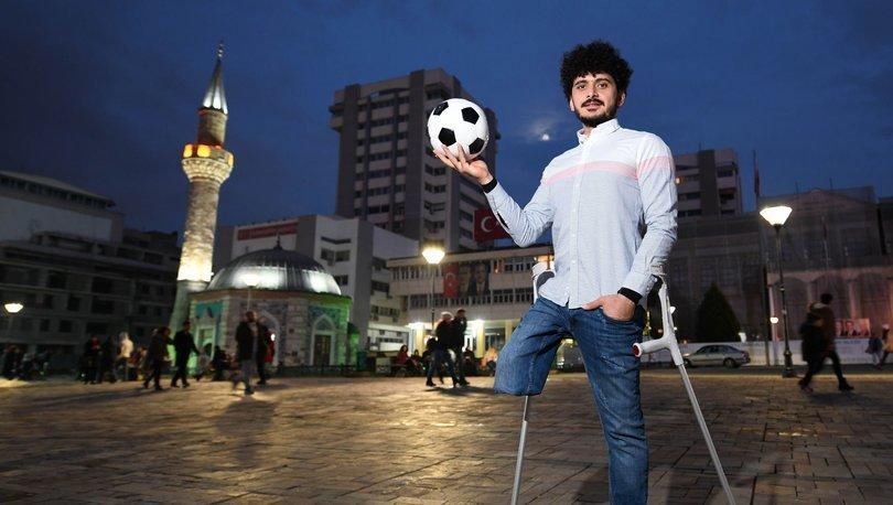 UEFA, #AdilOyun kampanyasında bu ay Barış Telli'nin hikayesi paylaştı
