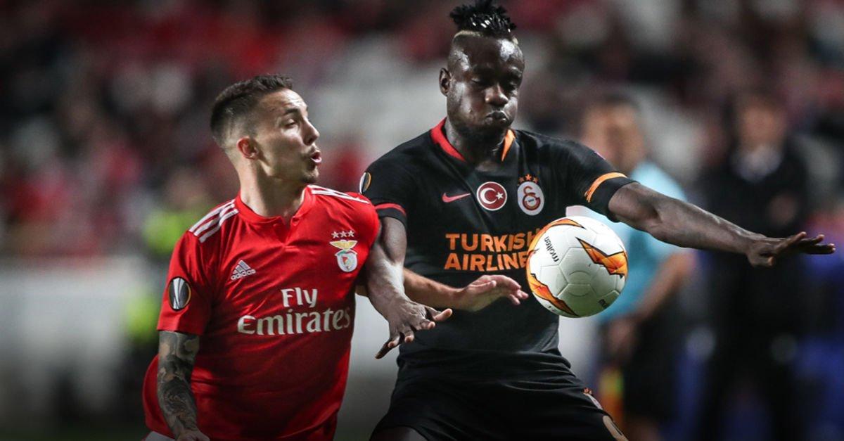 Benfica Galatasaray: Benfica: 0 - Galatasaray: 0