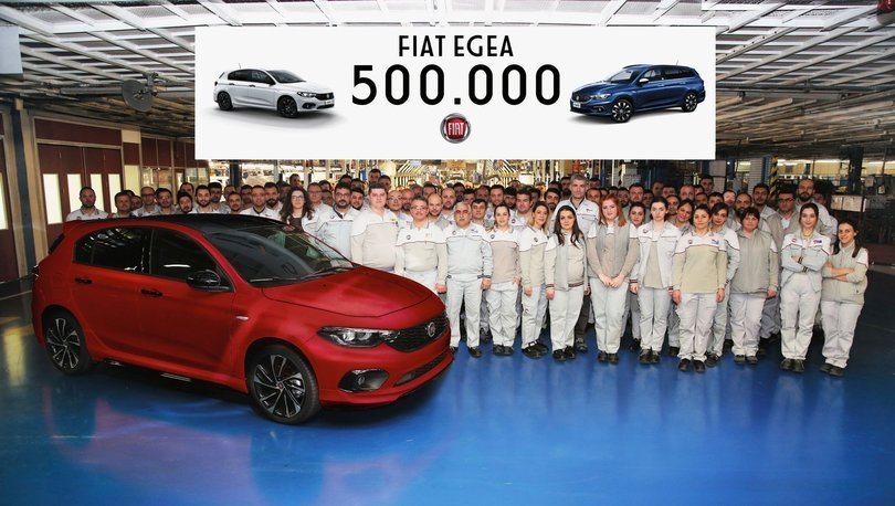 500.000'inci Fiat Egea banttan indi!