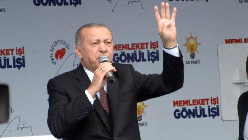 Cumhurbaşkanı Erdoğan'dan Fethiye'de önemli açıklamalar