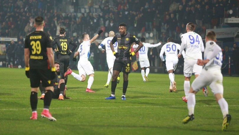 Çaykur Rizespor: 3 - Evkur Yeni Malatyaspor: 0 | MAÇ SONUCU